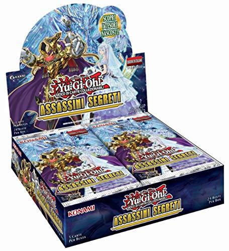 Konami -Yu-Gi-Oh Geheimnis-Box (24 Umschläge), Special Booster: Secret Slayers