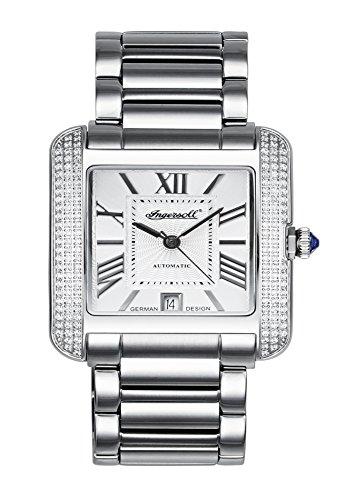 Ingersoll Damen Analog Automatik Uhr mit Edelstahl Armband IN1715SL