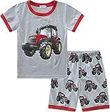 Boys Pajamas Toddler Short Sleeve Jammies...
