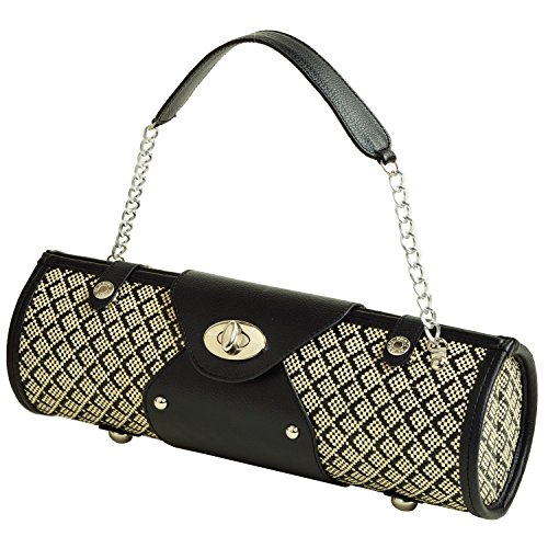 Picnic at Ascot Wine Purse - Black Diamond