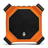 ECOXGEAR EcoDrift GDI-EXDRFT200 Rugged Waterproof Floating Portable Bluetooth Wireless 15-Watt Smart Speaker with Integrated Siri & Google Voice Control (Orange)