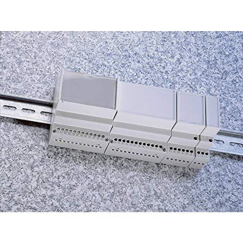 Preisvergleich Produktbild Weltron MR6 / C FA RAL7035 ABS Hutschienen-Gehäuse 106 x 90 x 68 ABS Lichtgrau (RAL 7035) 1 St.