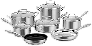 Best paderno professional cookware set 11 pc Reviews