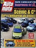 ACTION AUTO MOTO [No 66] du 01/04/2000 - PETITS MONOSPACES : LE GRAND MATCH. SCENIC...