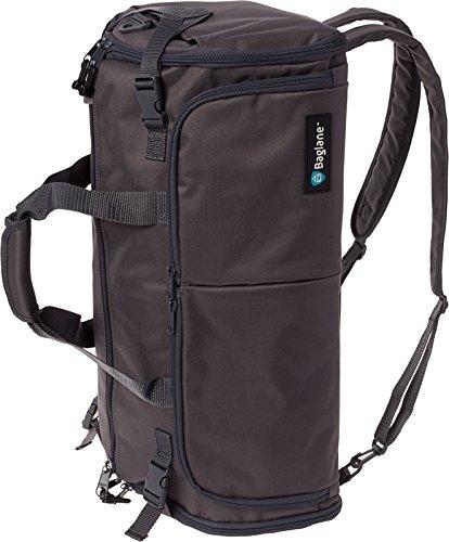 BagLane Hybrid Backpack Garment Bag - Travel Carry On Suit Bag (Charcoal)