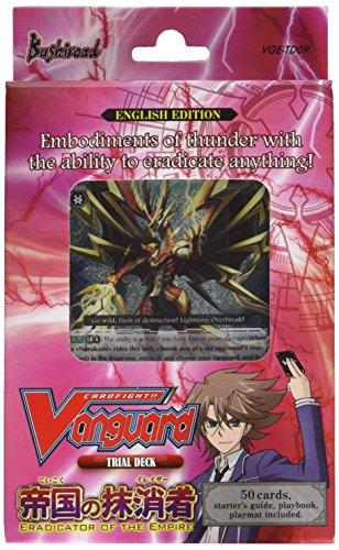 Cardfight Vanguard 'trial Deck 09 Eradicator Of The Empire' Card Game