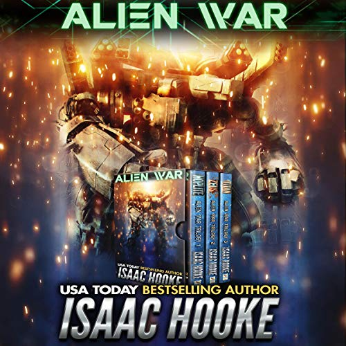 Alien War Audiobook By Isaac Hooke cover art