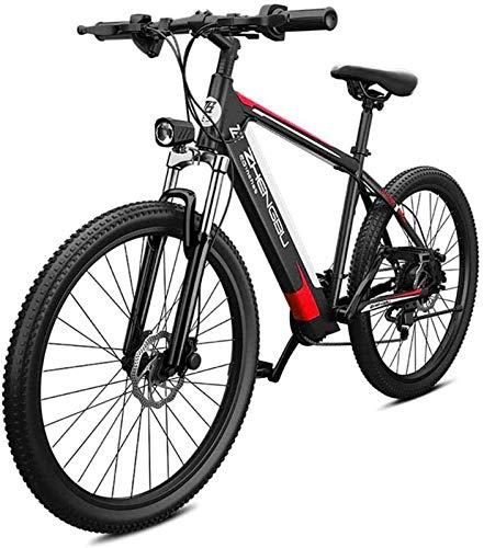 Bici electrica, 26' bicicletas de montaña eléctrica for adultos, Todo Terreno Ebikes E-MTB de aleación de magnesio 400W 48V extraíble de iones de litio 27 plazos de envío de la bicicleta for mujeres d