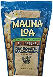 Image of Mauna Loa Macadamias, Dry Roasted with Sea Salt, 11-oz.: Bestviewsreviews