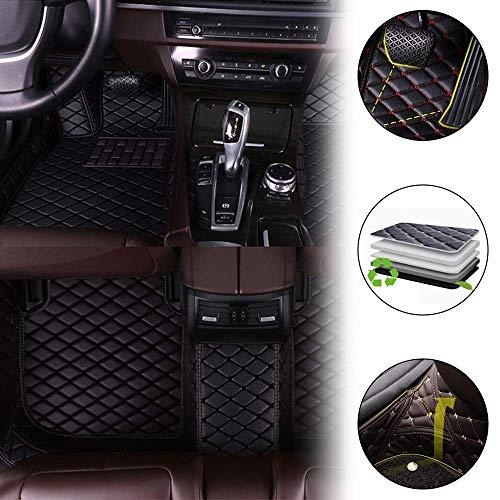 Cobear Fussmatten Auto 3D Autoteppich für LE XUS LS600H 2007-2015 (mit Massagestuhl) Individuelle Passform Kunstleder wasserdichte 3D Voll Auto Matten Schwarz 1 Set