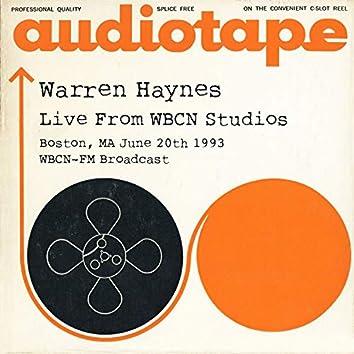 Live From WBCN Studios, Boston, MA June 20th 1993 WBCN-FM Broadcast
