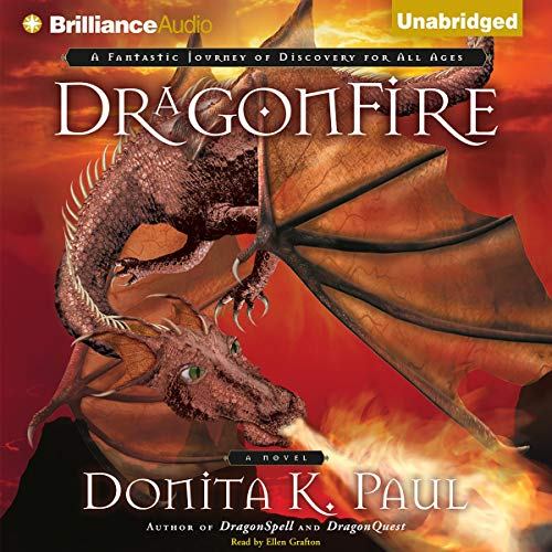 DragonFire audiobook cover art