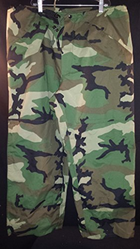 GENUINE US MILITARY ECWCS GORETEX WOODLAND PANTS GORTEX TROUSERS by TENNESSEE APPAREL