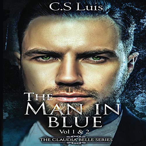 The Man in Blue audiobook cover art