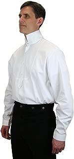 white victorian collar shirt