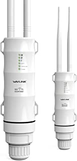 WiFi Range Extender Dual Band AC600, WAVLINK Outdoor High Power Outdoor Wireless AP & Repeater & Router, Wireless Signal B...