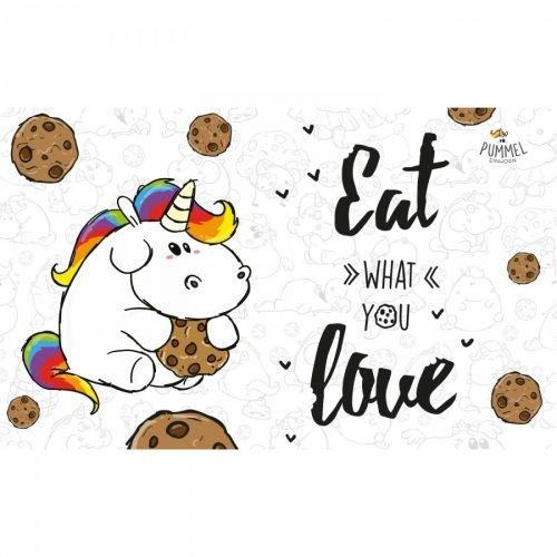 Pummeleinhorn Frühstücksbrettchen - Eat what you love