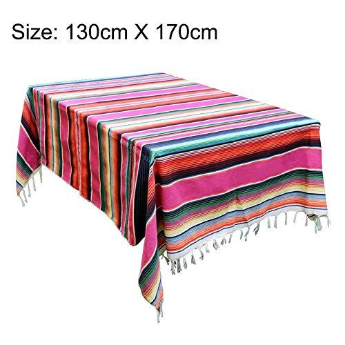 Dadahuam Decke Strand Ethnischen Stil Stranddecke Baumwolle Mexikanischen Indischen Handgefertigten Regenbogen Decke Home Tapisserie Strand Picknick-Matte