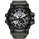 Men's Sports Digital Analog Stylish Watch Dual Electronic...