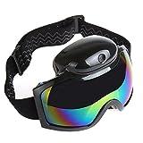 MXBIN SG01 Gafas de esquí Inteligentes HD 1080P Cámara Videocámara Video UV Anti-vaho Hombres Mujeres Cámara de acción Herramienta de reparación de Piezas de Accesorios