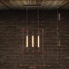 HIMA Industrial Pipe Chandelier Retro Metal Pendant Light for Bar,Club,Restaurant E27 #1