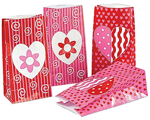 Valentine Gift Bags (24 Pack)