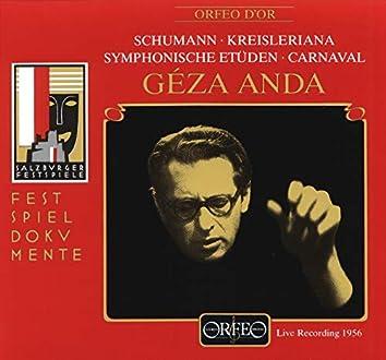 Schumann: Symphonic Études, Kreisleriana & Carnaval (Live)