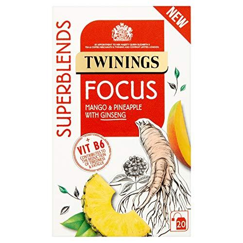 Twinings Superblends Focus Tea Bags 30g