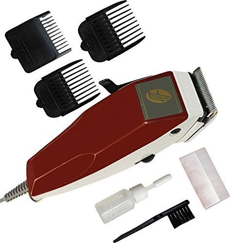Mj Traders FYC RF-666 TRIMMER FOR MENS (Red)