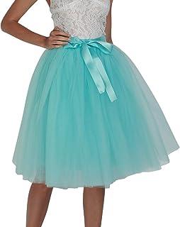 0d6ad6309 Amazon.es: falda tul azul