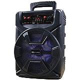 Supersonic IQ Sound IQ-1478DJTWS 8' Rechargeable PA Speaker +TWS+USB/SD/AUX/FM/LED+Free Mic