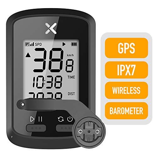 XOSS G GPS-Fahrradcomputer, kabellos, Tacho, Kilometerzähler, Rad-Tracker, wasserdicht, für Rennrad, MTB, Fahrrad, Bluetooth, Combo2