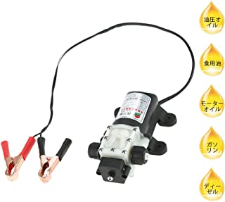 オイルポンプ 燃料ポンプ 12V 45W.灯油ポンプ 電動 .灯油/油圧/オイルポンプ 電動. 2サイズ 8 x 5 / 6 x 4 mm. 高安定性 車のポンプオイルポンプに最適