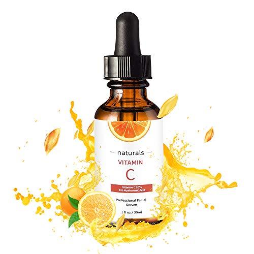 Vitamin C Serum for Face with Hyaluronic Acid, Vitamin E & Niacinamide (B3) Face Serum for Anti Wrinkle, Anti Aging, Hydrate & Dark Spot Vitamin C Oil Facial Serum