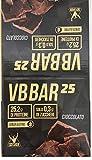 vb bar 25 box da 24 barrette da 50 g-net integratori (cioccolato)