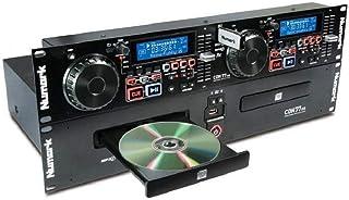 Numark CDN77USB - Professionele dubbele USB- en mp3-cd-speler voor professioneel DJ-gebruik met prestatiegerichte functies...