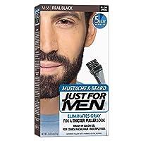 Just For Men Mstch-Beard #M-55 Real Black Color Gel (並行輸入品)