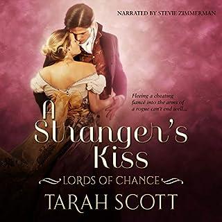 A Stranger's Kiss audiobook cover art