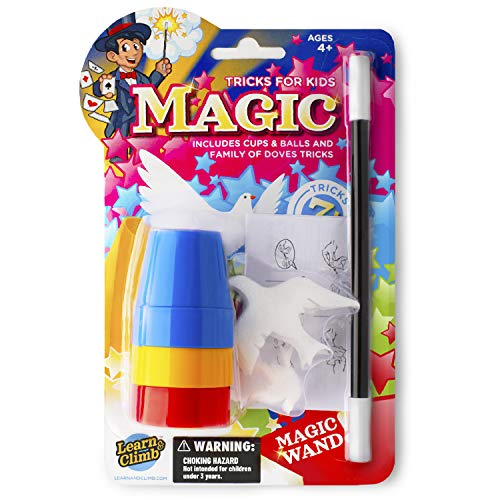 Learn & Climb Cups and Balls Magic Trick & Sponge Trick for Kids Now $3.99 (Was $11.99)