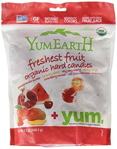 Organic Assorted Drops Family Size Bag Yum Earth 13 oz Drop