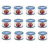 LIANHUAA Cartuchos de repuesto S1 para Intex 29001E, para filtro de piscina Spa y cartuchos para filtro de bañera de hidromasaje, cartuchos de piscina, para jardín y exterior (12 unidades)