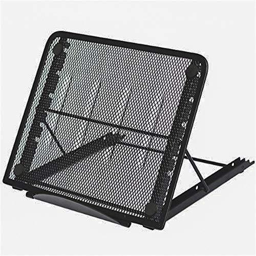 Laptop Stand, Portable Foldable Ventilated Adjustable Laptop Holder Ergonomic Design Tray Mount, Support Laptop, Notebook
