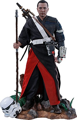 Hot Toys Star Wars Rogue One: A Star Wars Story Chirrut Îmwe Imwe Donnie Yen (Deluxe Version) 1/6 Scale Figure