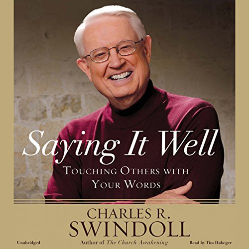 Saying It Well audiobook cover art