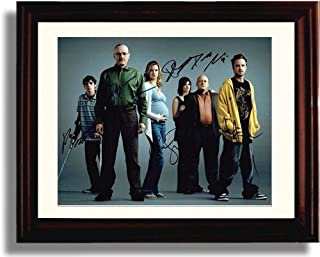 Framed Breaking Bad Autograph Replica Print - Cast Signed