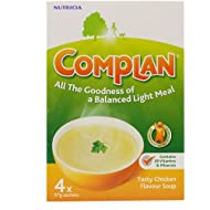 Complan Tasty Chicken Flavour Soup provides the nutrition your body needs with 26 vitamins and minerals The B vitamins in the soup help to reduce tiredness and fatigue by increasing energy Complan Chicken soup provides more nutrition than a can of re...