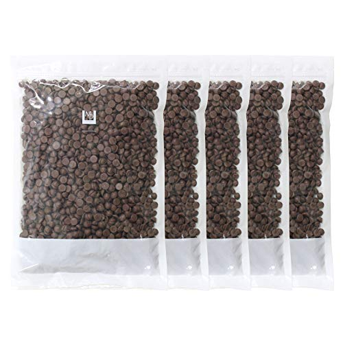 【mamapan】チョコレート ベルギー産 ミルクチョコレート カカオ35.5% 1kg×5 まとめ買い