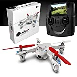 MKT Hubsan X4 H107D Upgraded 2.4G 4CH RC Quadcopter With Camera RTF (H107D) by MKT