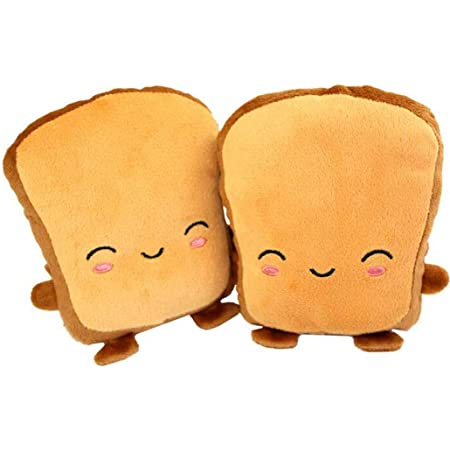 1 Pair Cute Cartoon Hand Warmers USB Powered Heated Hand Warmer Gloves Novetly Heating Winter Gloves Adorable Christmas Gifts for Woman and Children Khaki