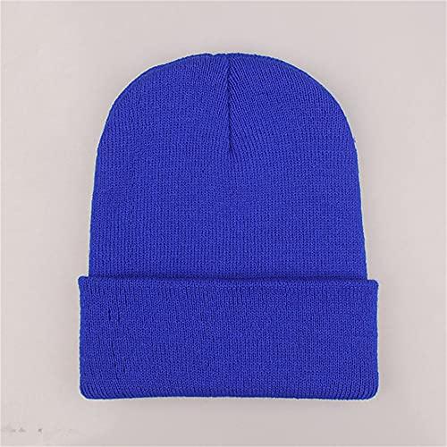 Sombreros de Invierno para Mujer, Gorros de Punto, Gorro Fluorescente para niñas, otoño, Gorros para Mujer, Gorros cálidos, Gorro Informal para Mujer-a2-One Size
